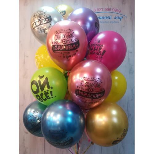 №6 Надписи на шарах на день рождения