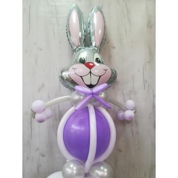 №25 Фигура из шаров заяц