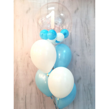 №46 Прозрачный шар с шариками внутри