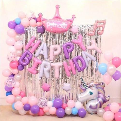 №155 Оформление дня рождения девочки